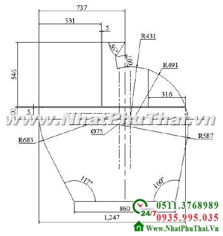 Thiết kế chế tạo quạt công nghiệp - Hình 02