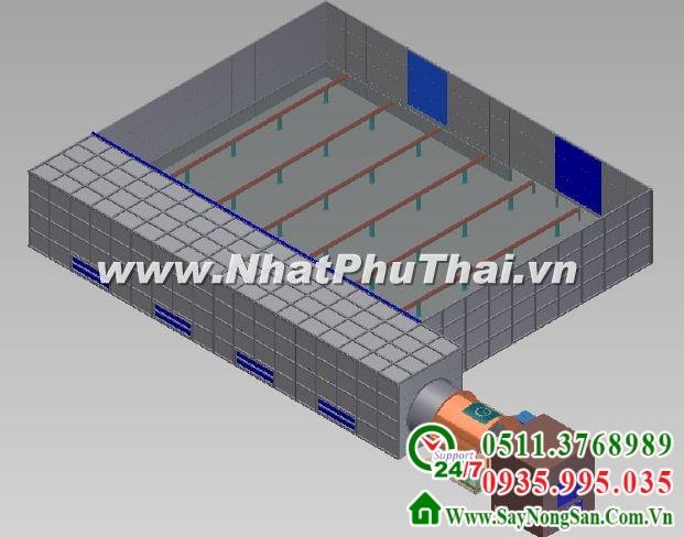 Tư vấn thiết kế chế tạo máy sấy nông sản - Hình 02